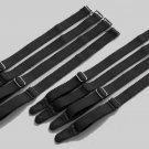 8 Pieces-2 Sets black Replacement Garter Straps