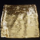 O/S- Gold Sequin Mini Skirt or Tube Top