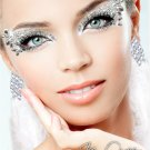Exotic Xotic Eyes Theatrical Glitter & Crystal Eye Make Up Kit-Ice Queen