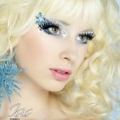 Exotic Xotic Eyes Theatrical Glitter & Crystal Eye Make Up Kit-Isis