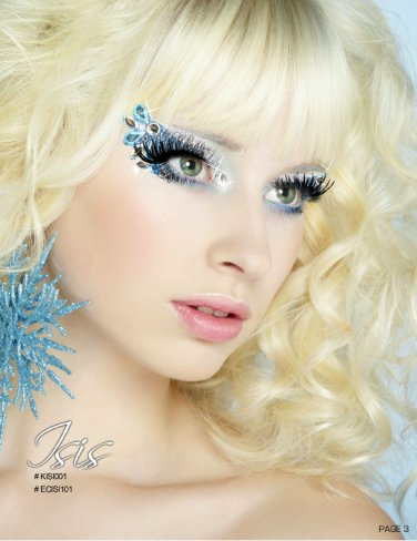 Exotic Xotic Eyes Theatrical Glitter & Crystal Eye Make Up Kit-Isis