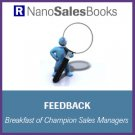 Feedback: Breakfast of Champion Sales Managers