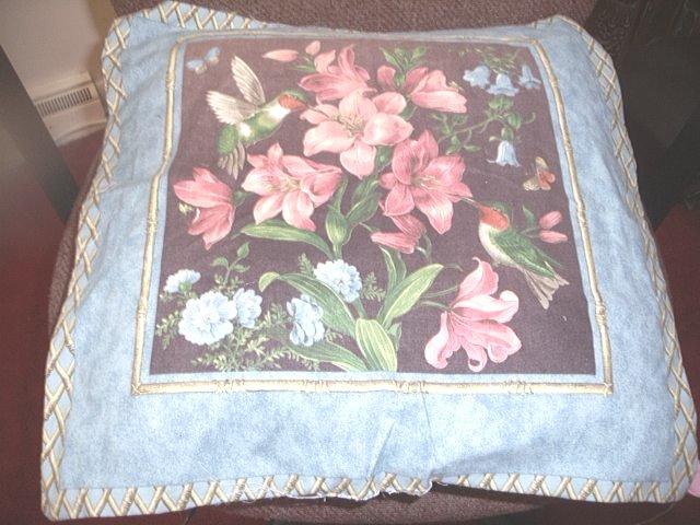 Flowers Toss Pillow