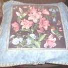 Flowers Toss Pillow