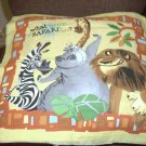 Madagascar Toss Pillow