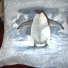 Penguin Toss Pillow