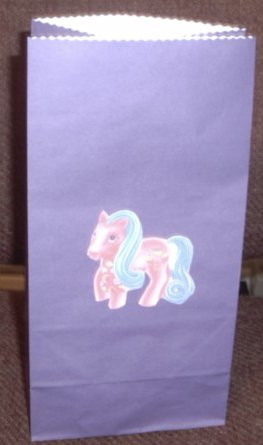 My Little Pony Colored Lunch Bag