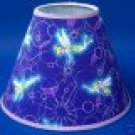Tinkerbell Purple Lamp Shade