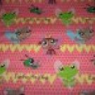 Littlest Pet Shop Fitted Crib Sheet