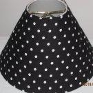 Black and White Polka Dot Lamp Shade