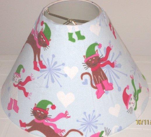 Christmas Cats Lamp Shade