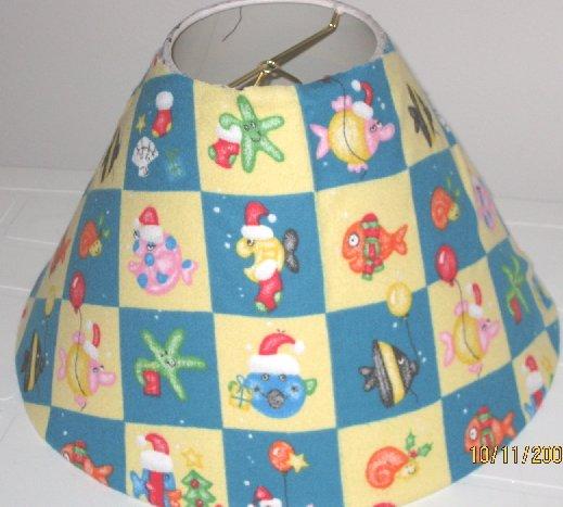 Christmas Fish Lamp Shade