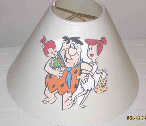 Flintstones Lamp Shade