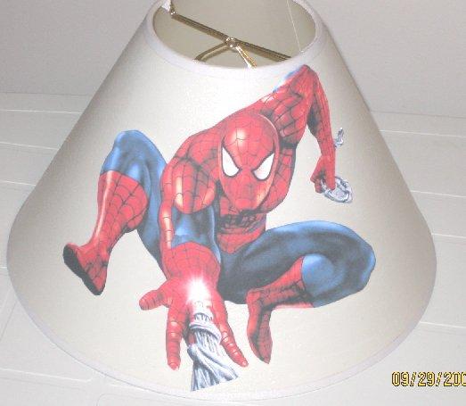 Spiderman Lamp Shade