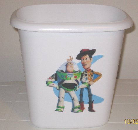 Toy Story Trash Can