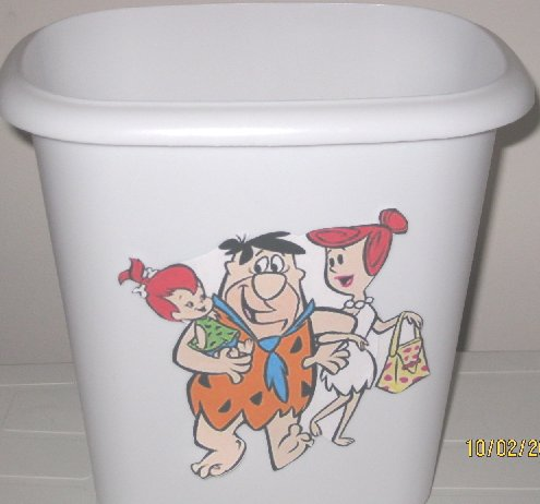 FlintstonesTrash Can