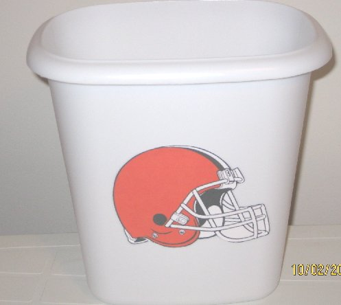 Cleveland Browns Trash Can