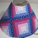 Mulitcolor Quilted Style Lamp Shade