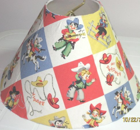 Little Cowpokes Lamp Shade