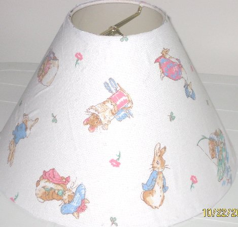 Beatrix Potter Peter Rabbit Lamp Shade