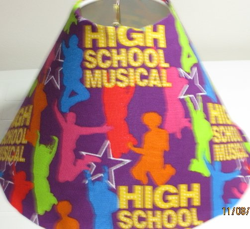 High School Musical Lamp Shade