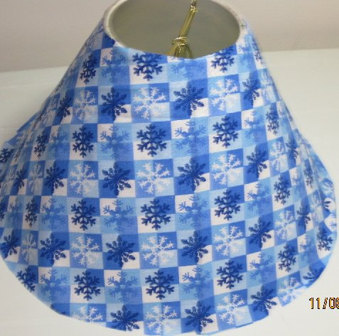 Christmas Snowflakes Lamp Shade