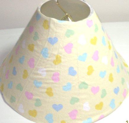 Hearts Lamp Shade