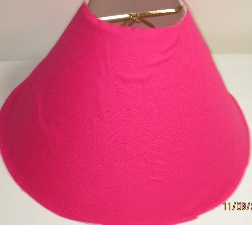 Hot Pink Lamp Shade