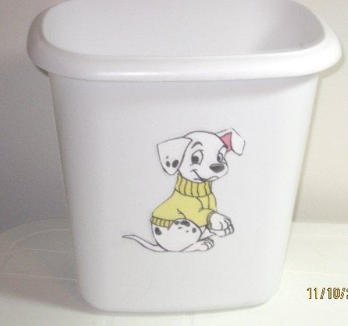 101 Dalmatian Trash Can
