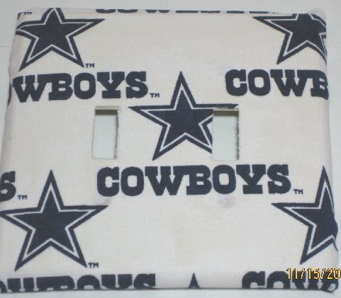 Dallas Cowboys Double Switch Cover