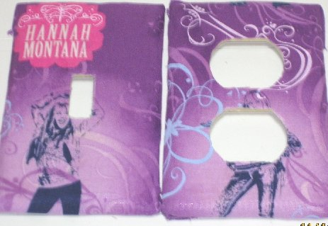 Hannah Montana Switch & Outlet Covers