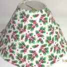 Christmas Holly Lamp Shade
