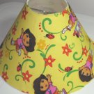 Dora Yellow Spring Lamp Shade