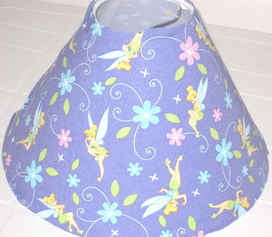 Tinkerbell Lavender Lamp Shade