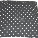 Black and White Polka Dot Ceiling Light Cover
