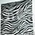 Zebra Print Ceiling Light Cover