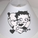Black and White Betty Boop Lamp Shade