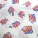 Choo Choo Putt Putt Zoom Zoom Pack n Play Fitted Sheets