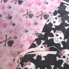 Gothic Princess Skulls Pack n Play Fitted Sheets