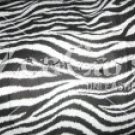 Zebra Print Pack n Play Fitted Sheets