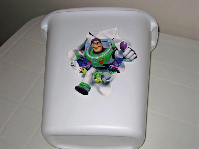 Toy Story Buzz Trash Can