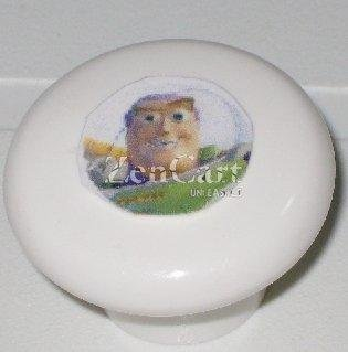 Toy Story Buzz Lightyear Plastic Drawer Knob