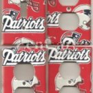 New England Patriots Switch & Outlet Covers