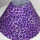 Cheetah lavender lamp Shade