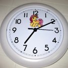 My Little Pony Yellow Wall Clock