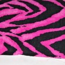 Zorina Zebra Hot Pink Ceiling Fan