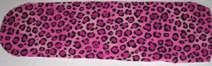 Cheetah Hot Pink Ceiling Fan