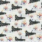Pittsburgh Steelers Grey Toddler bedding set