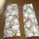 Baseball Car Strap Covers
