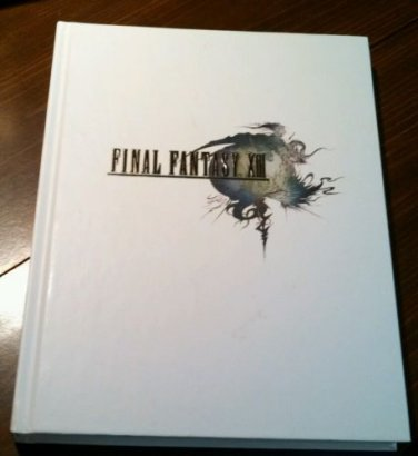 Final Fantasy XIII The Complete Official Guide Hardcover Limited Edition